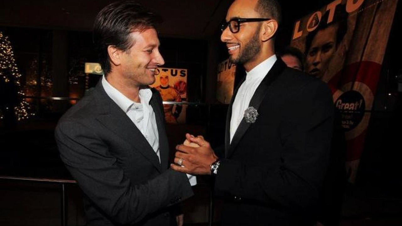 Lotus CEO Dany Bahar and Swizz Beatz - 5.12.2011