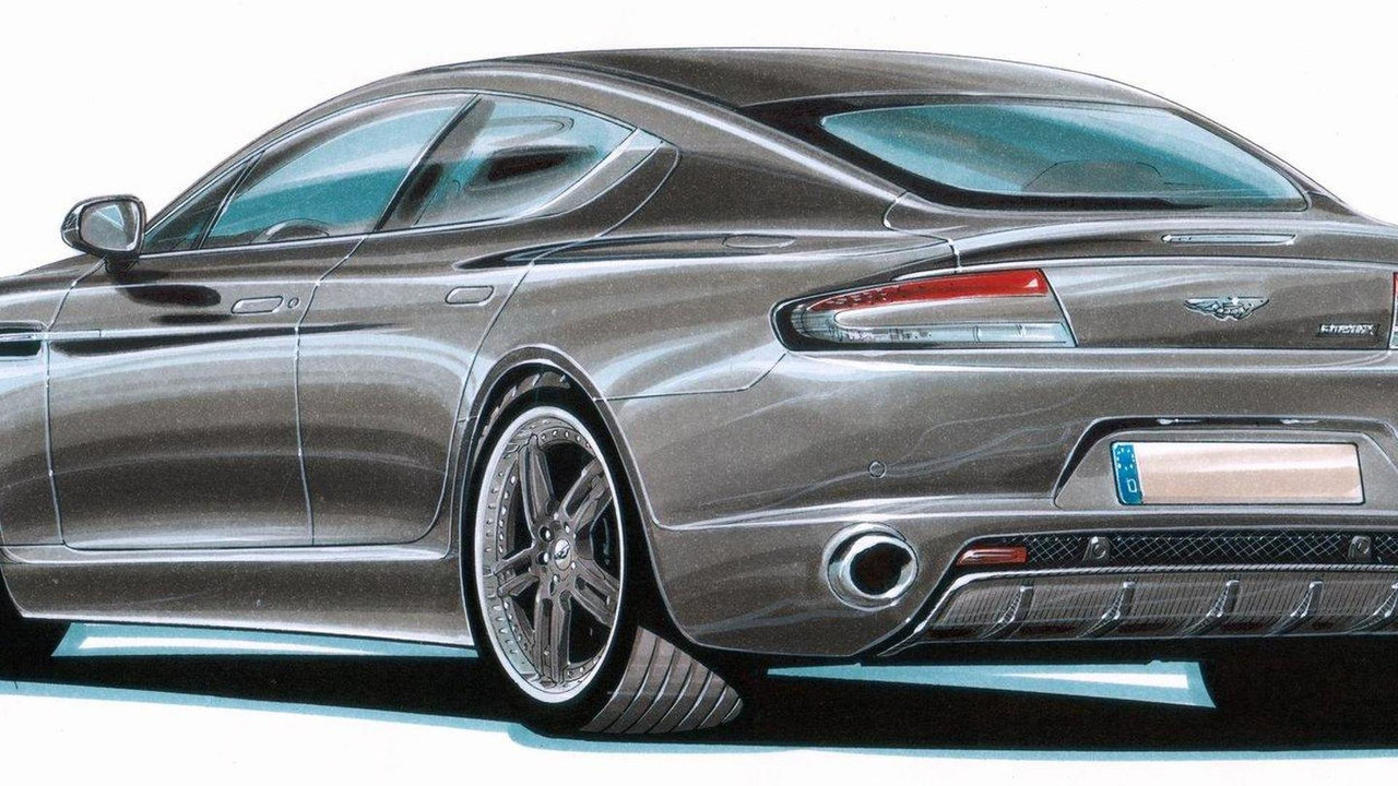 Aston Martin Rapide by Cargraphic, 27.04.2010