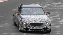 2012 BMW 3-series testing on Nurburgring