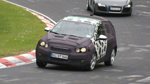 Chevrolet Aveo Spied on the Nurburgring