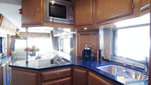 £1million Motorhome with Space to Store Own Sportscar