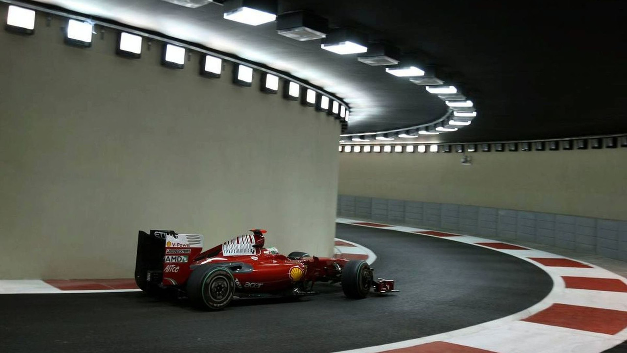 Giancarlo Fisichella (ITA), Scuderia Ferrari, Abu Dhabi Grand Prix, Friday Practice, 30.10.2009, United Arab Emirates