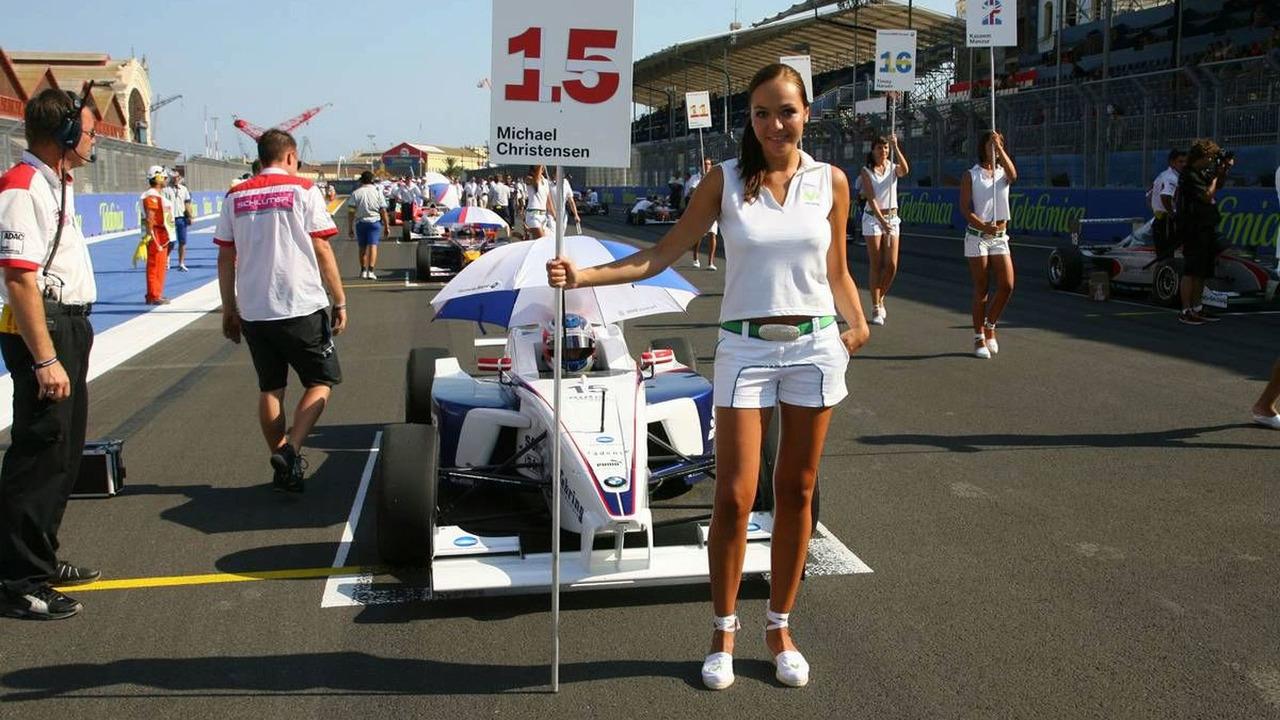 Grid Girls, European Grand Prix, Valencia Spain 20.08.2009