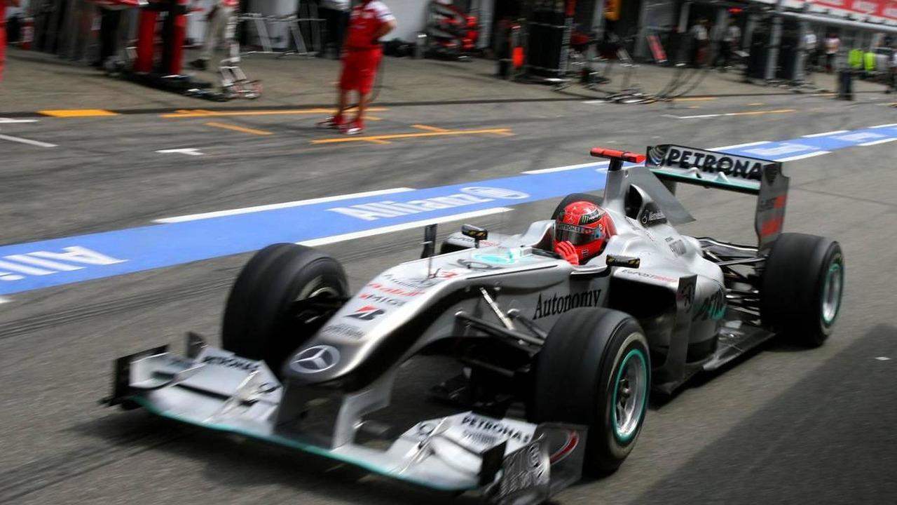 Michael Schumacher (GER), Mercedes GP, German Grand Prix, 24.07.2010 Hockenheim, Germany