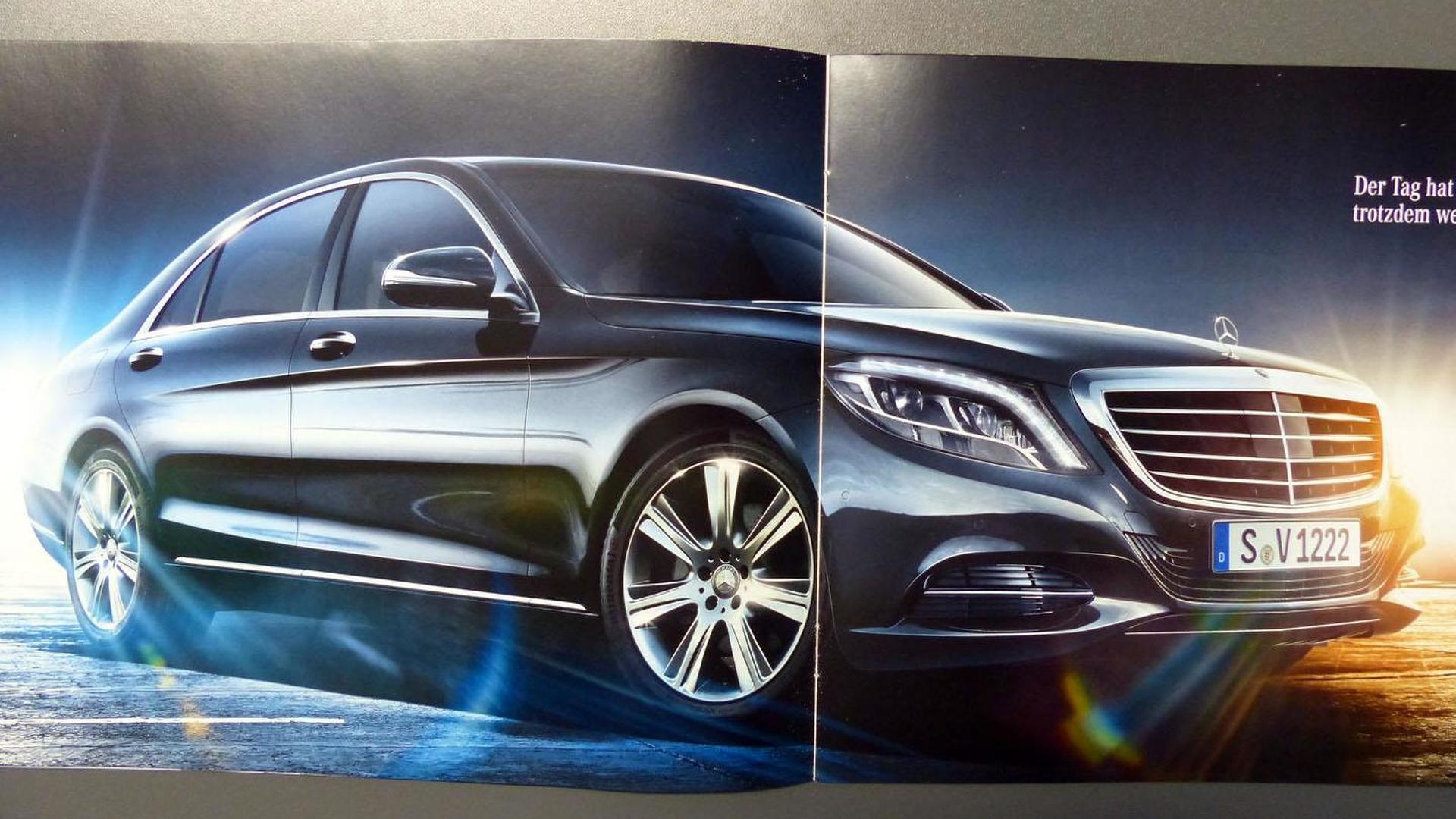2014 Mercedes S-Class brochure leaked