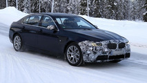 2014 BMW 5-Series facelift spy photo 23.01.2013 / Automedia