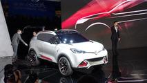 MG CS Concept at 2013 Auto Shanghai