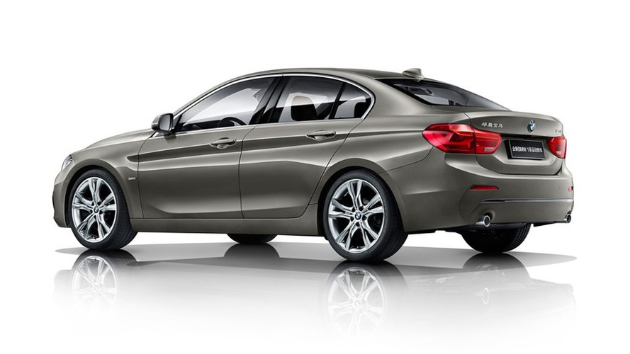 bmw 1 series sedan goes on sale in china 43 photos and a weird ad. Black Bedroom Furniture Sets. Home Design Ideas