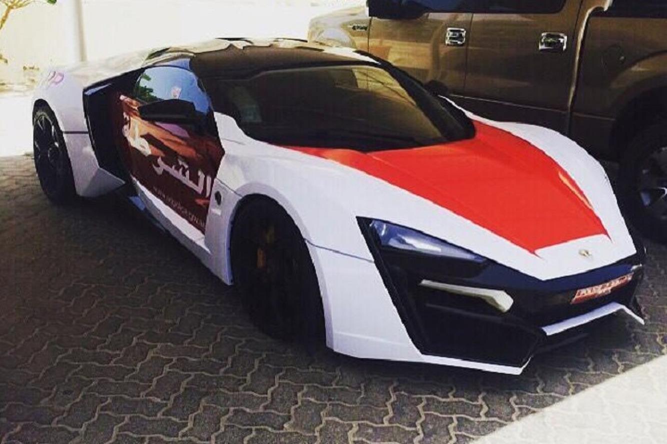 The Abu Dhabi Police Now Own a Lykan Hypersport