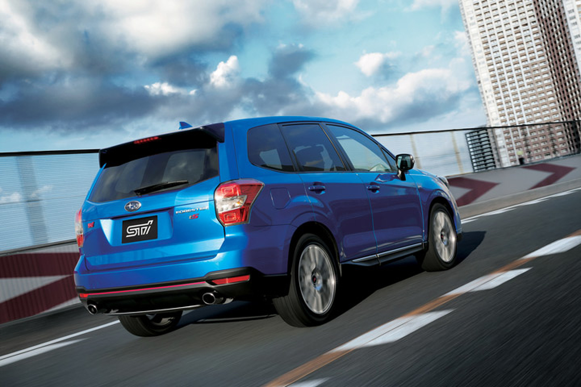 The Subaru Forester Got a Hot STI Treatment