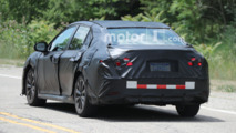 next gen toyota camry spied looking impressively adequate. Black Bedroom Furniture Sets. Home Design Ideas