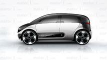 Motor1 Apple Car Renderings