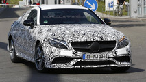 Mercedes-AMG C63 Coupe hides its aggressive body in latest spy shots