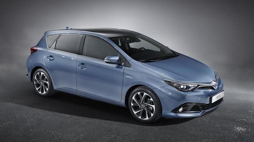 Toyota Auris gets a minor facelift