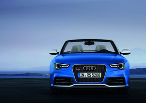 2013 Audi RS5 Cabriolet Drops Its Top Ahead of Paris Debut
