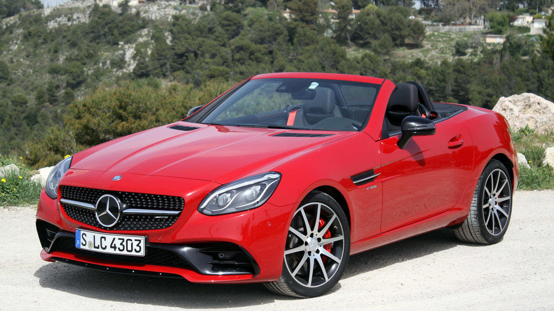 First drive 2017 mercedes benz slc for Slc mercedes benz