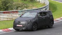 Toyota C-HR production version spied with full camo on the Nurburgring