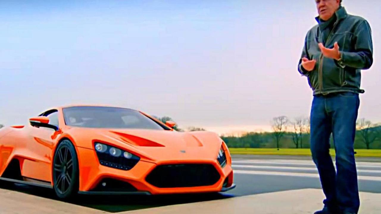 Zenvo ST1 with Jeremy Clarkson on Top Gear