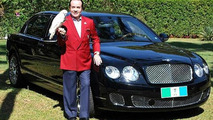 Brazilian millionaire buries Bentley Flying Spur for afterlife use