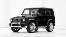 Brabus tunes the short wheelbase Mercedes-Benz G-Class