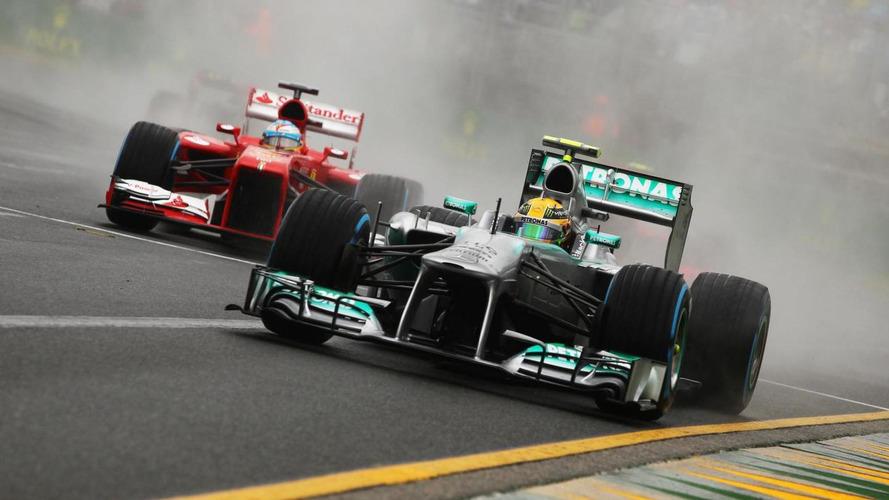 FIA test rules a blow for Mercedes, Ferrari