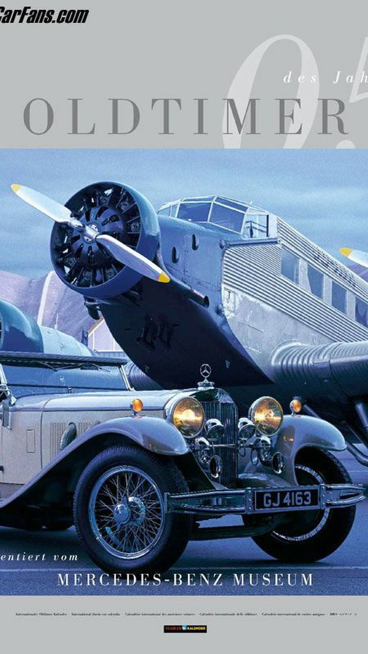 Mercedes-Benz Museum classic car calendar