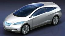 Hyundai i-Blue Fuel Cell Concept Debut at Frankfurt