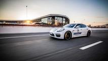 Porsche Panamera with Martini Racing livery