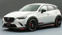 Tuned Mazda CX-3 for Tokyo Auto Salon