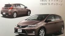 2013 Toyota Auris leaked brochure image - 26.7.2012