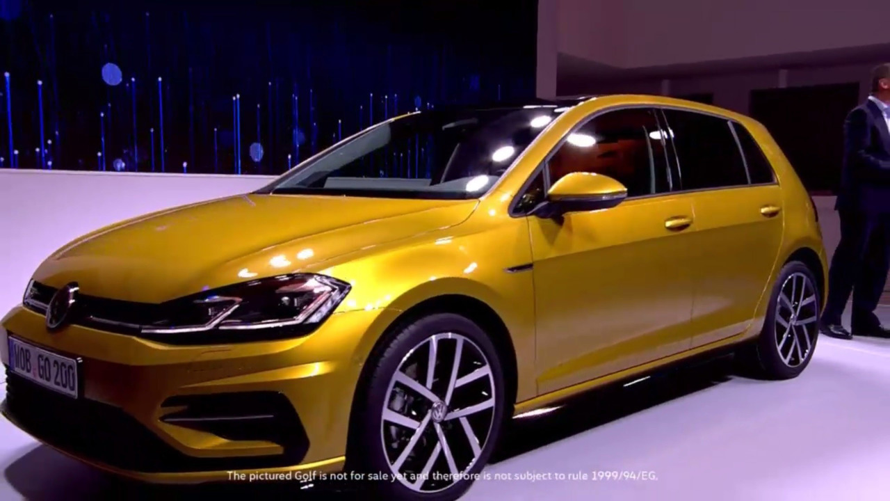 2017 vw golf facelift breaks cover with more powerful gti autos post. Black Bedroom Furniture Sets. Home Design Ideas