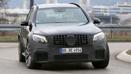 Mercedes-AMG GLC 63 spy photos