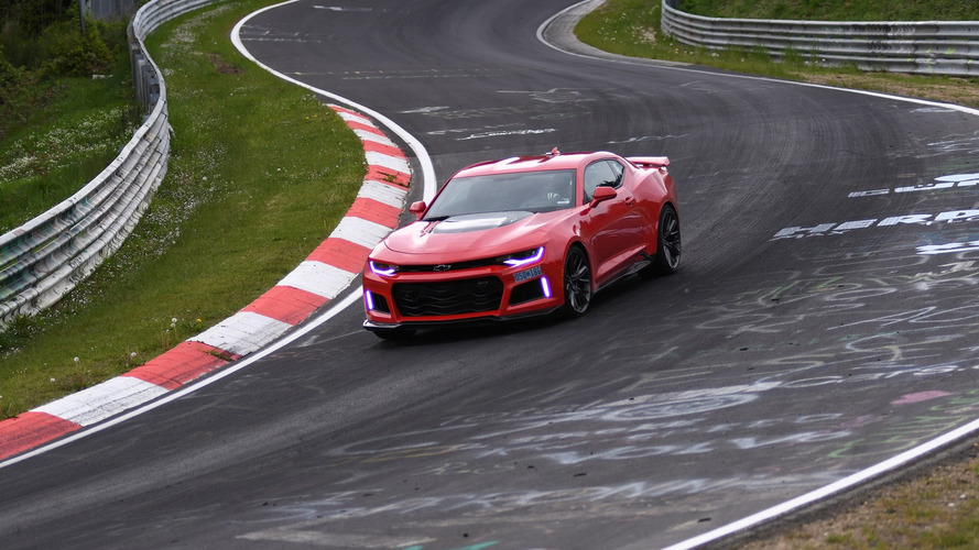 Camaro ZL1 can lap the 'Ring quicker than a Koenigsegg