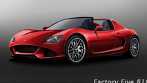 Factory Five 818 design revealed [video]