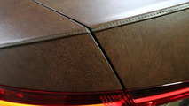 2015 Skoda Superb wrapped in leather