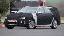 Kia Optima SW spy photo
