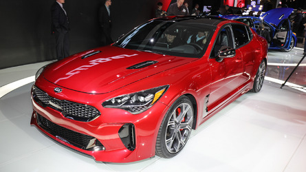 Kia Stinger getting three engines in Europe, including diesel