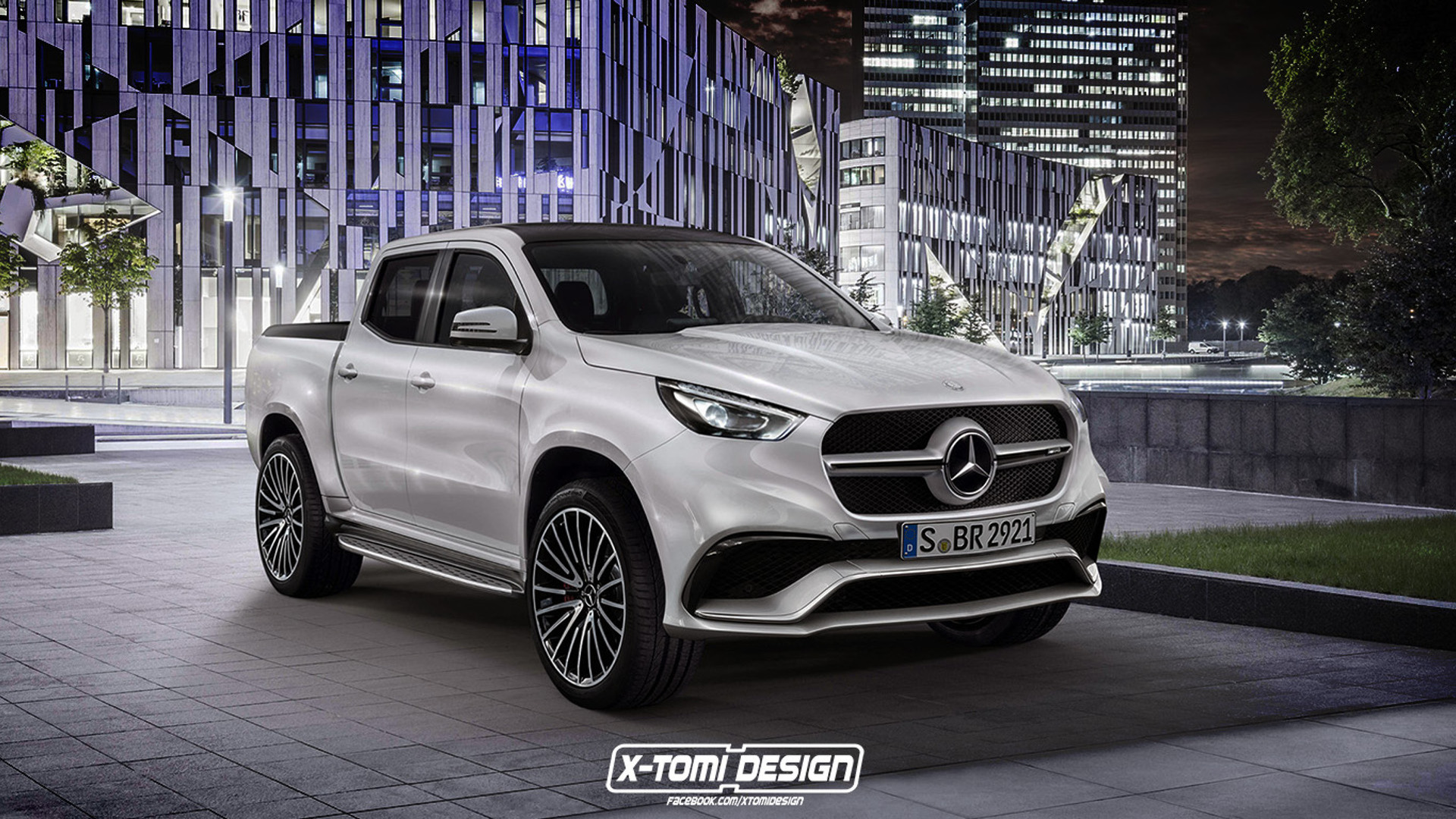 mercedes x63 amg rendering raises the question who would buy this. Black Bedroom Furniture Sets. Home Design Ideas