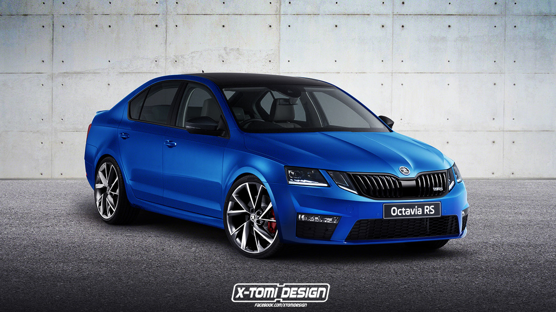 does the new skoda octavia facelift look better in sporty rs trim. Black Bedroom Furniture Sets. Home Design Ideas