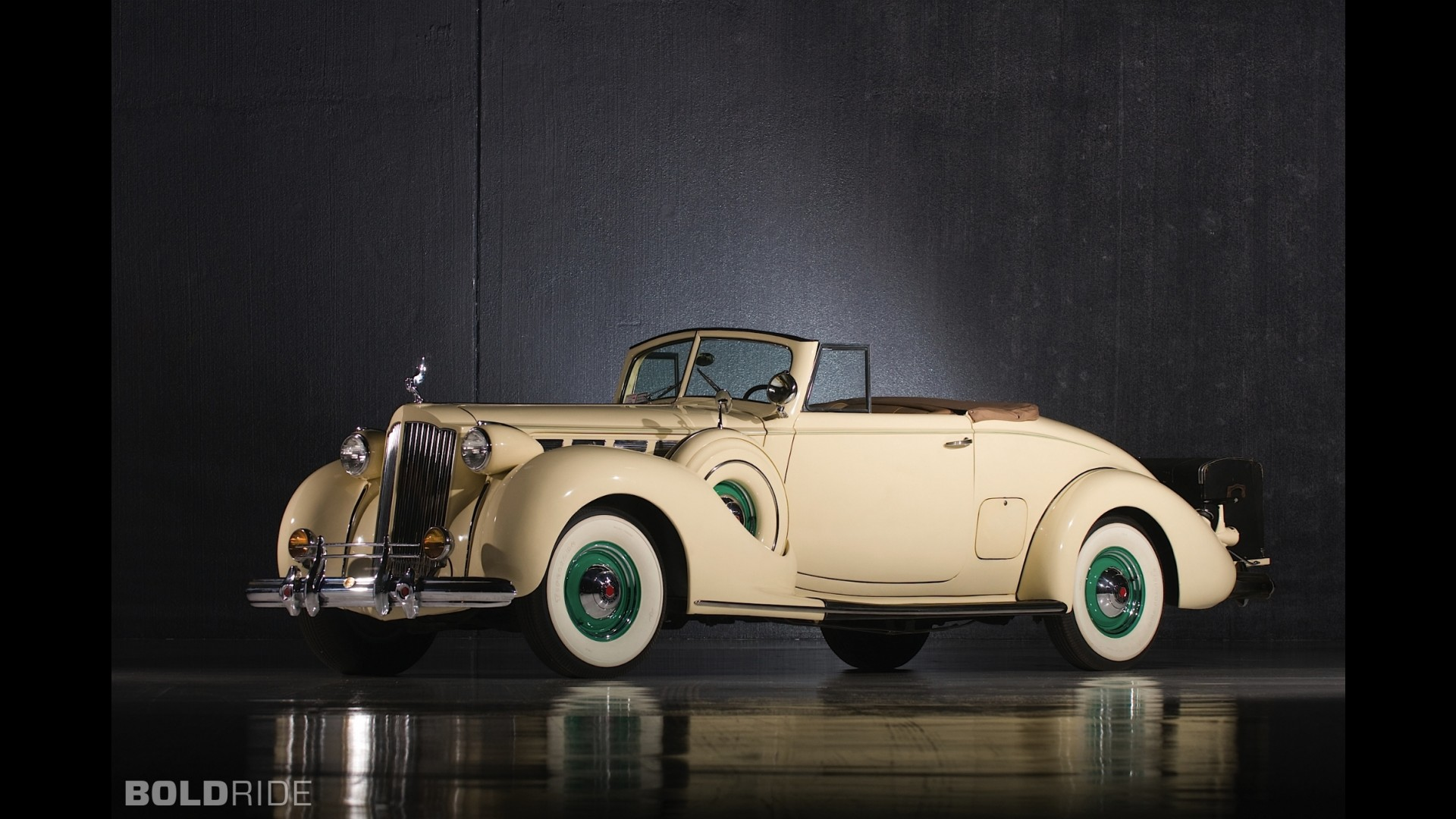 Packard Super Eight Convertible Coupe