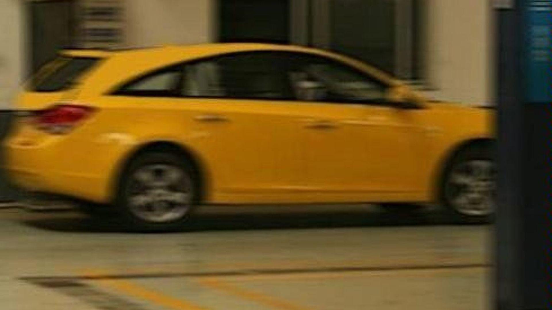 Chevy Cruze Wagon Spied [UPDATE]