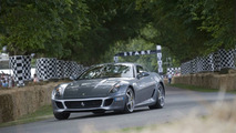 Ferrari 599 GTB Fiorano HGTE at Goodwood FOS 2009