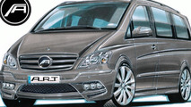 2011 Mercedes Viano facelift tuning previewed by A.R.T.