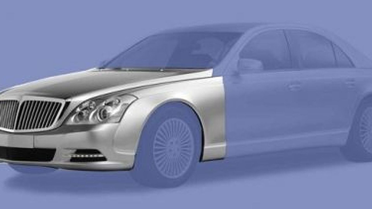 Maybach facelift leaked illustrations - 490 - 12.03.2010
