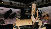 AMG SL63 Edition IWC and SL65 Black Series at Mercedes-Benz Fashion Week Fall Collection