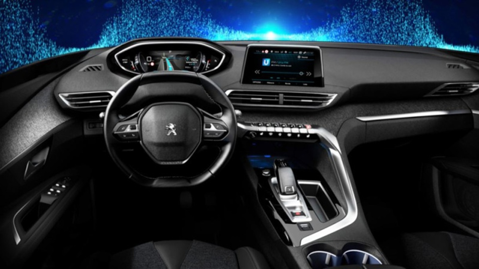 2017 Peugeot 3008 official interior pics leaked
