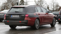 2017 Mercedes E Class Estate spied almost undisguised