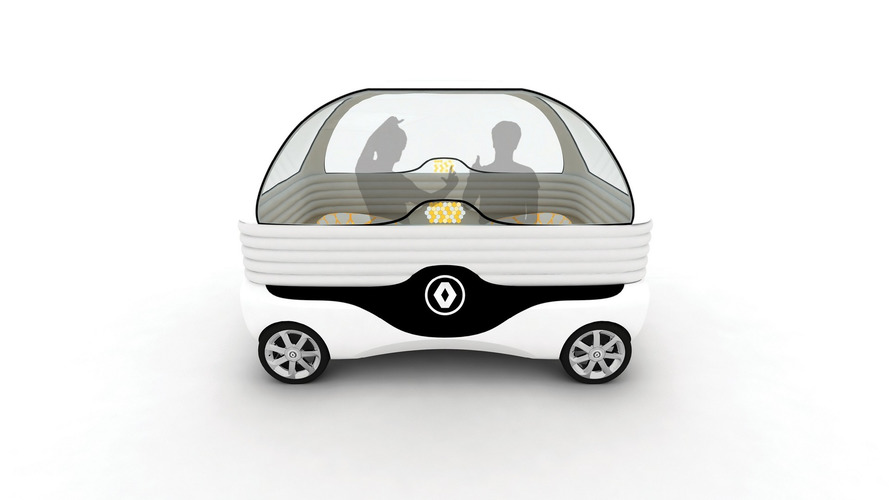 Renault asks design students to envision a driverless car's interior