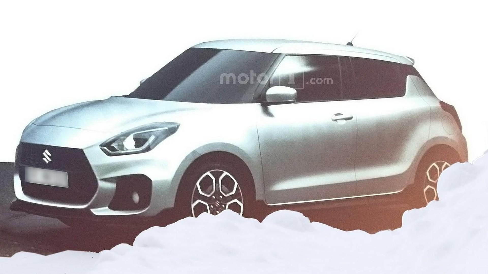 2017 Suzuki Swift, Swift Sport emerge from dealer presentation