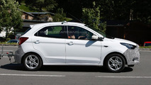 2016 Ford Ka spied testing in European specification
